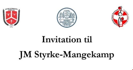 Invitation til JM Styrkemangekamp 2019