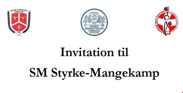 Invitation til SM Styrkemangekamp 2019