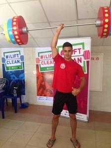 Flot indsats af Omed Alam ved VM Junior 2018