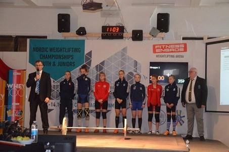 Nordiske ungdoms- og juniormesterskaber 2018