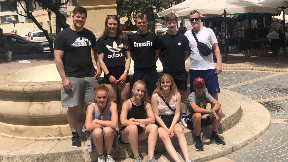 Update på Ungdom/junior samling og EU Cup 2021 på Malta